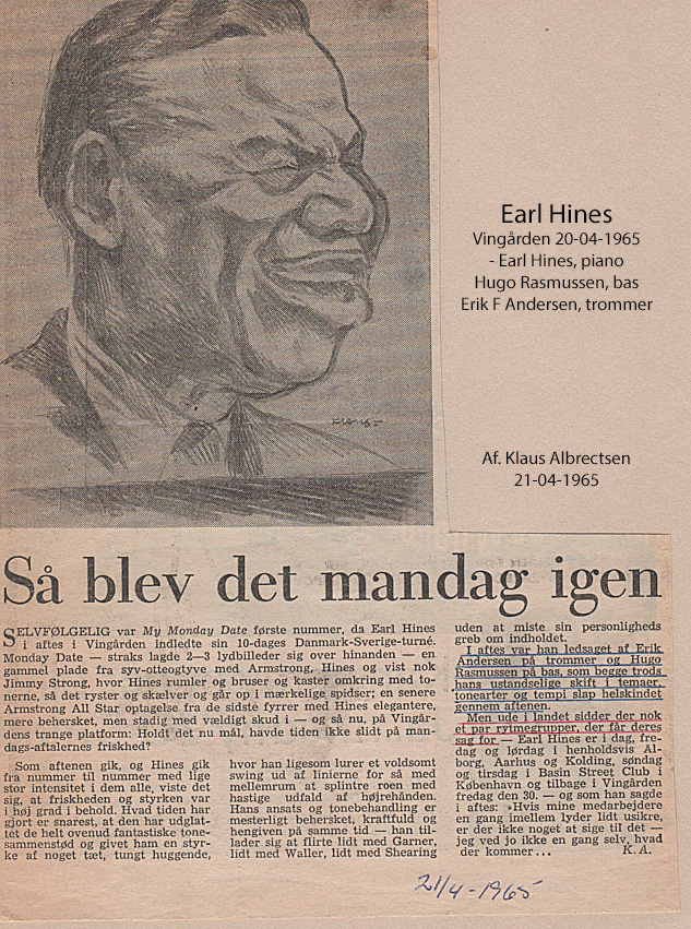 earl hines vingården 1965